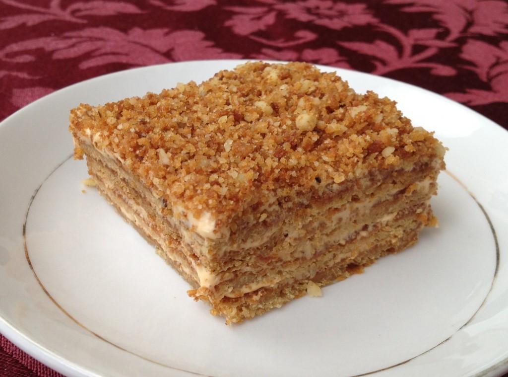Cream Cake Recipe In English: Honey Cake Recipe