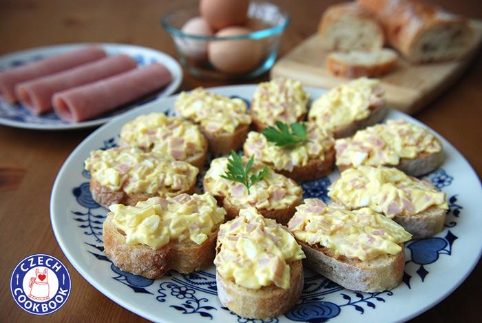 Grilled Ham And Cheese With Cornichon Spread Recipe — Dishmaps