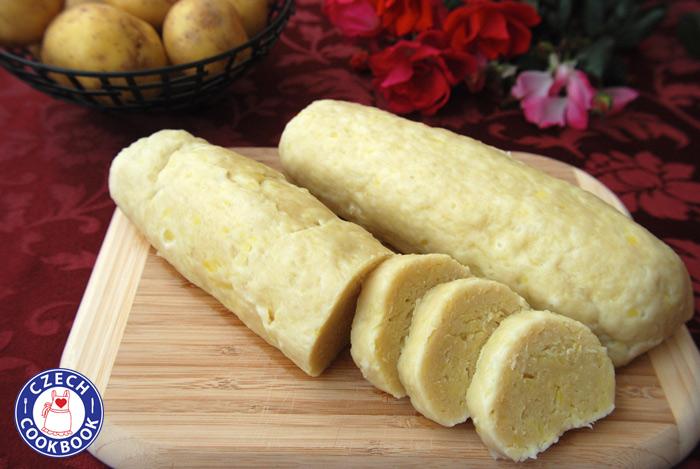 Image result for potato dumplings czech